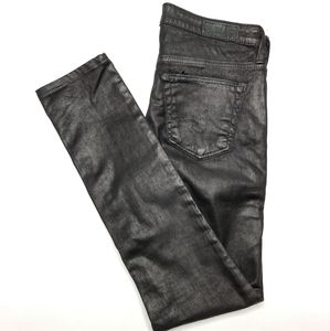 Adriano Goldschmied AG The Legging 25 Black Jeans